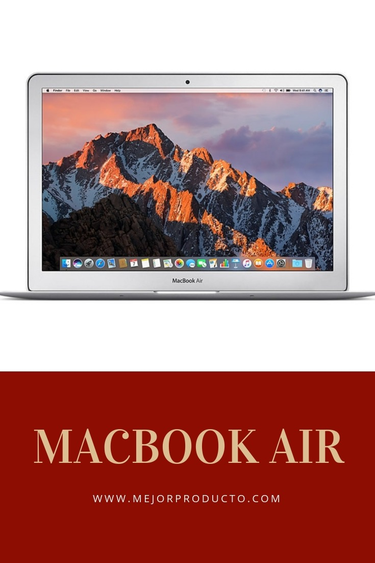 mcbook air de apple