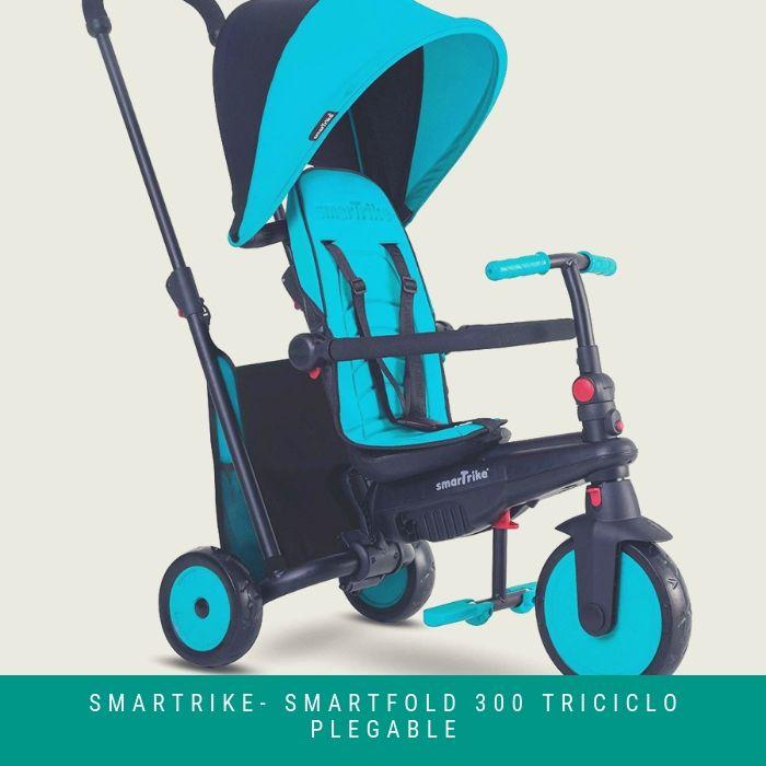 SMARTRIKE-smarTfold-300-Triciclo-Plegable La Mejor Silla de Paseo 2020 ▷ BEBE Siempre Cómodo