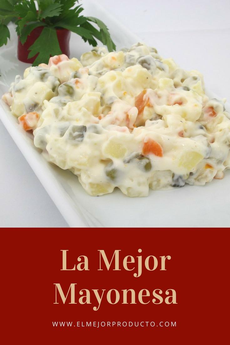 pinterest-La-Mejor-Mayonesa №1 - La mejor Mayonesa 🥇 ¡Ideal para acompañar!