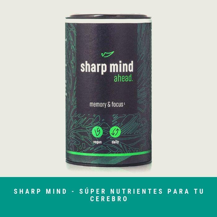 Sharp-Mind-Súper-Nutrientes-Para-Tu-Cerebro El Mejor Producto para la Memoria y Concentración 2020