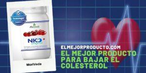 El Mejor Producto para bajar el Colesterol