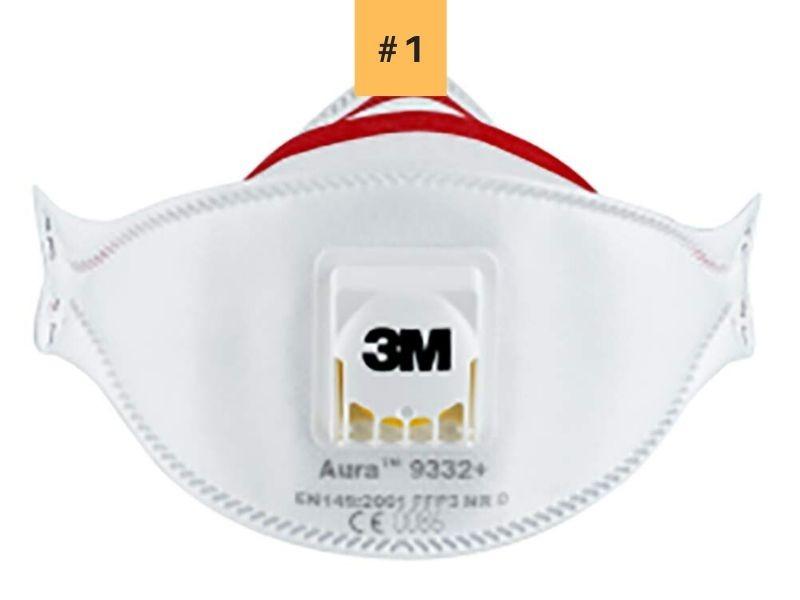 3M-Aura-9332 La mejor mascarilla FFP3