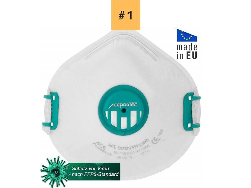 ACE-PROTEC-FFP3-Mascarilla-Antipolvo-con-Válvula La mejor mascarilla FFP3 para el Covid19