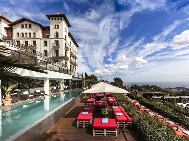 Gran Hotel La Florida mejor hotel romantico en Barcelona