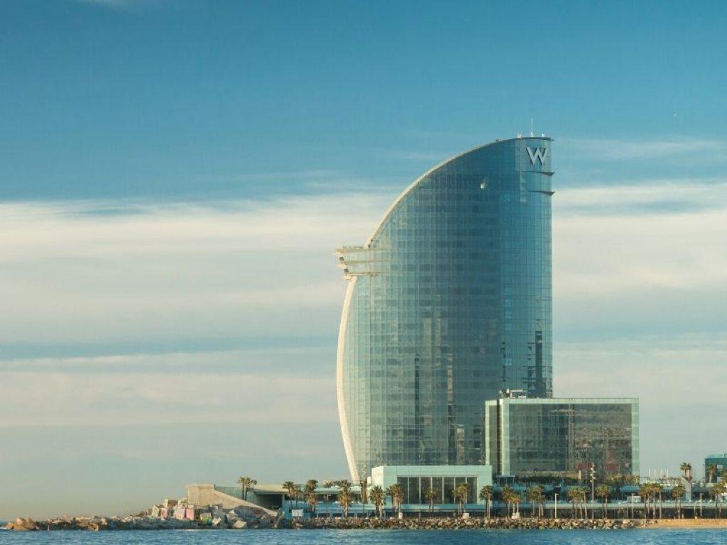 el mejor hotel romantico w barcelona