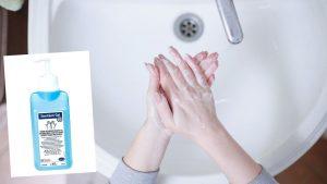 el mejor limpiador de manos contra los virus