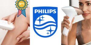 La mejor depiladora láser Philips
