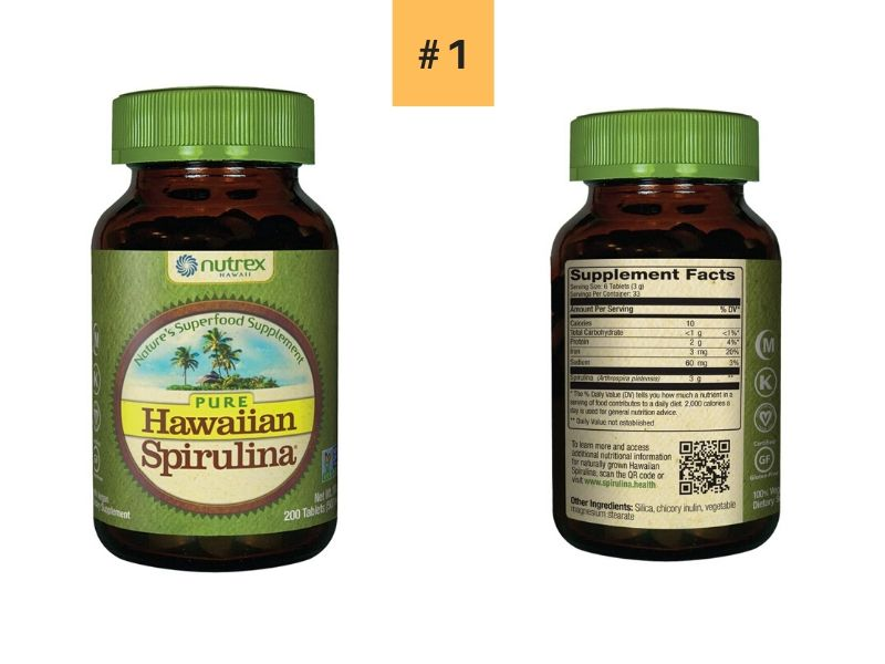 Nutrex Hawaii Spirulina