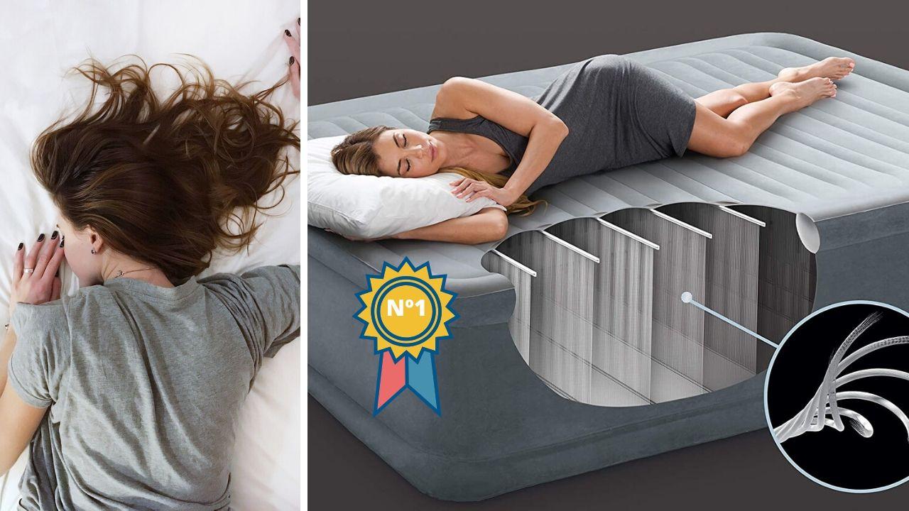colchón hinchable de calidad