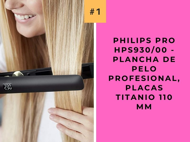 Philips Pro HPS93000 - Plancha de Pelo Profesional