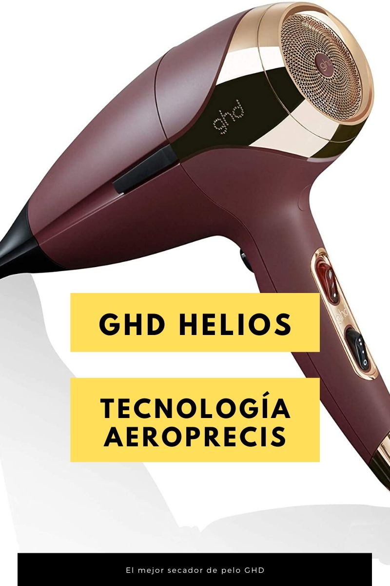 ghd Helios - Secador de pelo profesional con tecnología aeroprecis