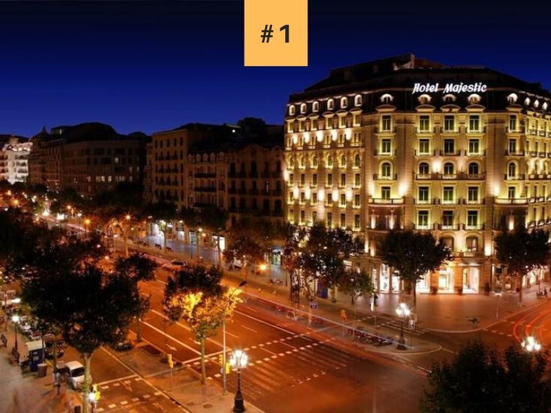El mejor hotel de lujo en Barcelona Majestic Hotel Spa Barcelona