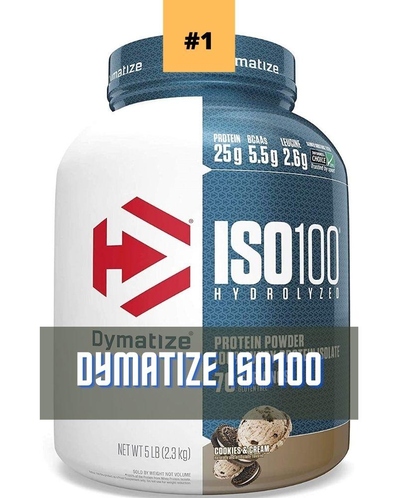 Dymatize ISO100  proteína de gimnasio