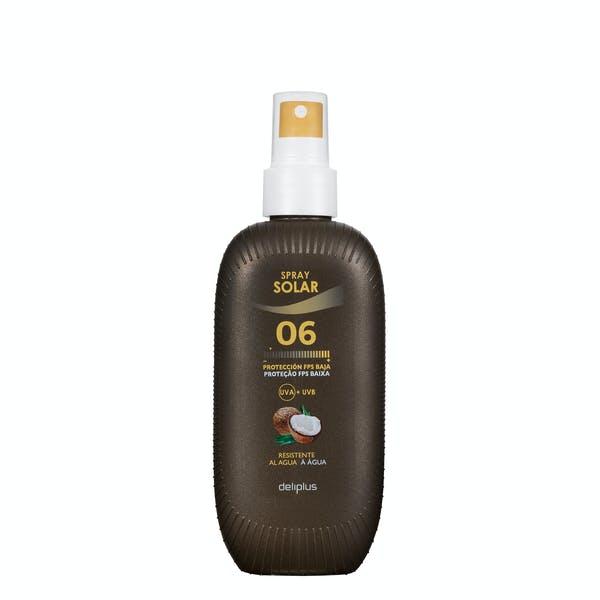 Spray protector solar de Coco Deliplus SPF 6